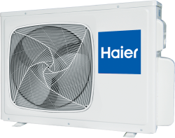 Сплит-система Haier Lightera HSU-07HUN403/R2 внешний блок (ON/OFF)