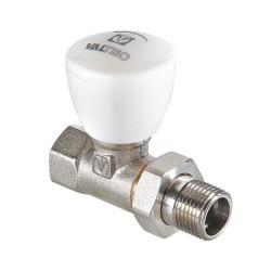 Клапан ручной VALTEC, для радиатора, прямой