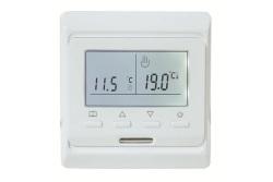 Термостат комнатный TIM с датчиком температуры тёплого пола 3м. 220В/16А