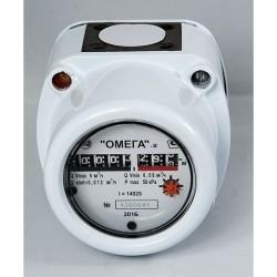 Счётчик газа G  4 ОМЕГА фильтр 3/4, штуцер 3/4  2021 РП