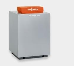 Газовый напольный котел Viessmann Vitogas 100-F 96 кВт с чугунным теплообменником