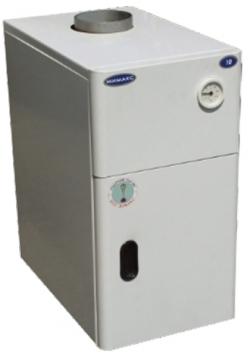 Газовый напольный котел Мимакс КСГВ-16 с отечественной автоматикой АГУ-Т-М (двухконтурный)