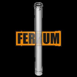 Дымоход Ferrum из нержавеющей стали 1 м