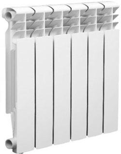 Биметаллический радиатор Оазис 500/80 6 секций