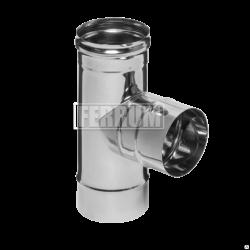 Тройник-К Ferrum 90° (430/0,5 мм) Ø 100