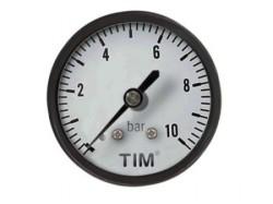Манометр TIM аксиальный 6 бар (Y-50T-6bar)