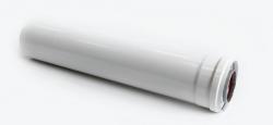 CE6-0.5 Удлиннение дымохода коаксиальное Ф60/100 L=500 C-EXT-01-0,5  SAMRISE