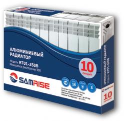 Алюминиевый радиатор SAMRISE RA-01 350/80